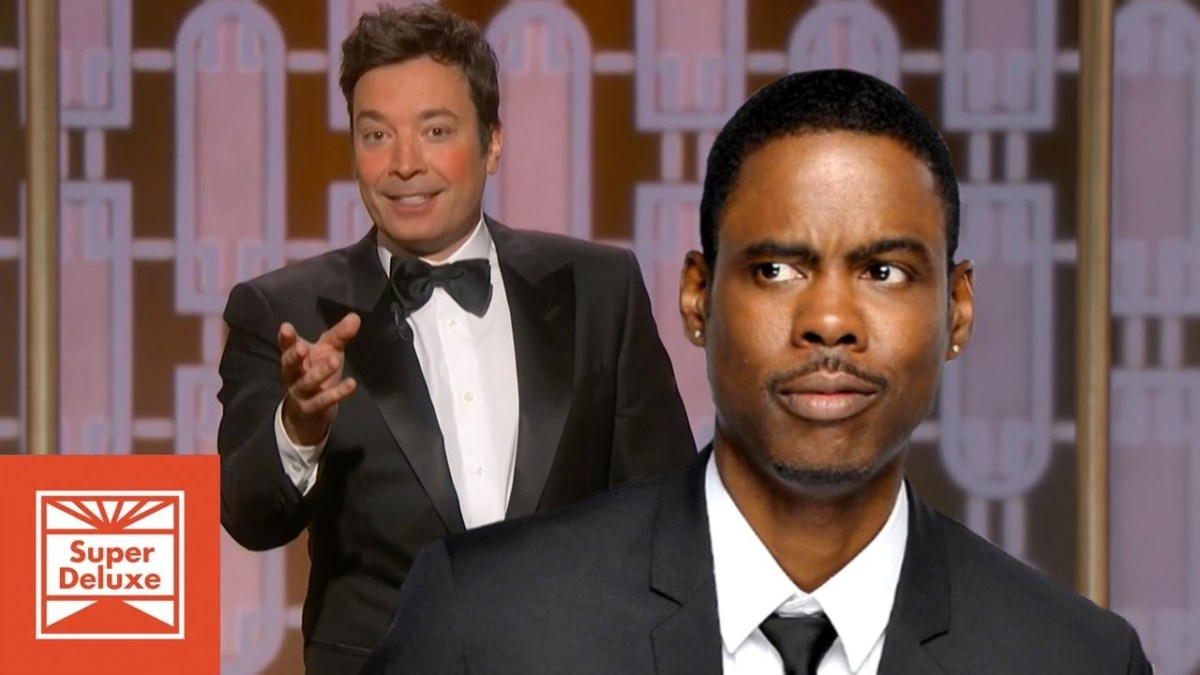 Jimmy Fallon's Chris Rock impersonation at the 2017 Golden ...