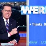 "Stephen Colbert lets ""Stephen Colbert"" have the last Word, I mean, WERD, on President Barack Obama"