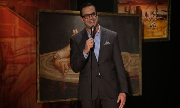 "Into the ""Night Gallery"" of death, dating and anti-depressants with Joe DeRosa's ""You Let Me Down"" on Comedy Central"