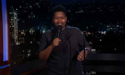 Sam Jay on Jimmy Kimmel Live