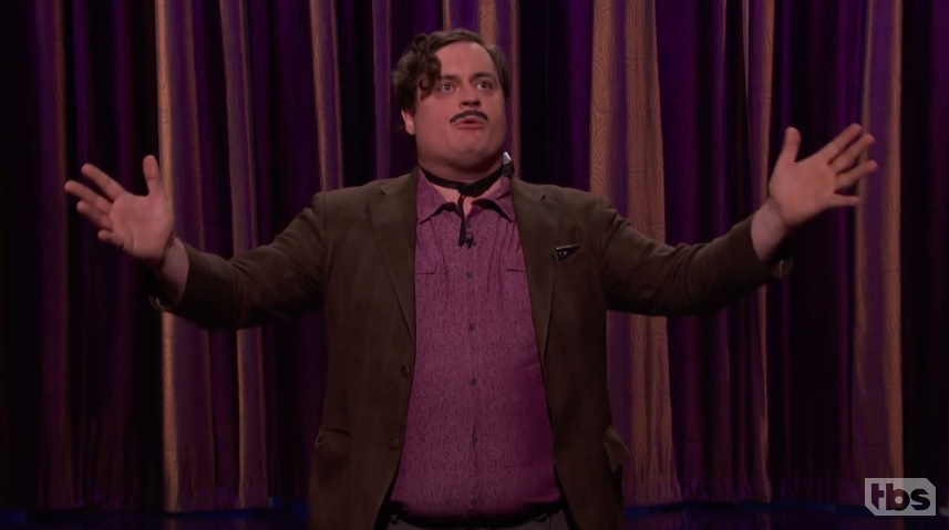 Ian Abramson's shocking late-night debut on Conan
