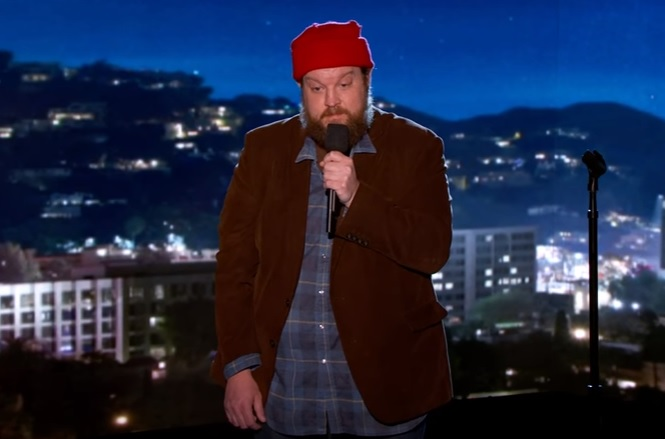 Casey Crawford's TV debut on Jimmy Kimmel Live