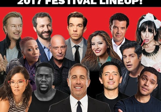 Seinfeld, Elmaleh, Noah, Wong, Mulaney, Apatow among first headliners booked for 2017 Just For Laughs Montreal