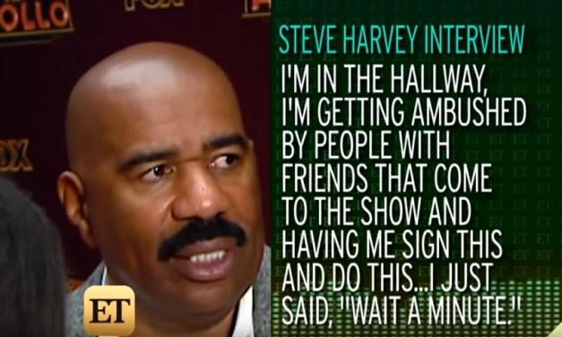 Steve Harvey explains that memo to his Chicago talk show staff