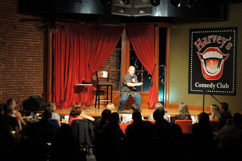 Harvey's Comedy Club in Portland has closed