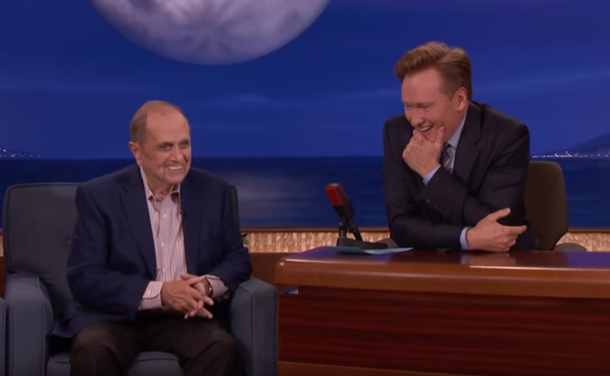 On Conan, Bob Newhart remembers meeting Don Rickles, and the joke thief who changed Newhart's career