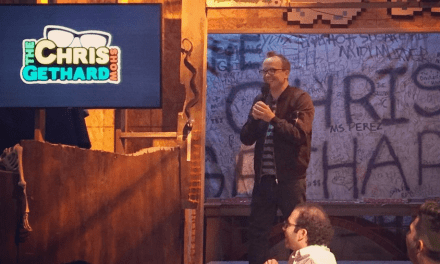 Chris Gethard prepares to launch the LIVE edition of The Chris Gethard Show on truTV