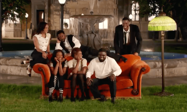 "Jay-Z ""Moonlight"" music video re-enacts Friends with black comedians"