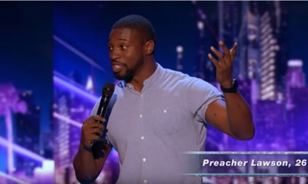 Preacher Lawson performs on Judge Cuts night of America's Got Talent 2017