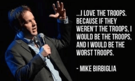 Mike Birbiglia talking about old jokes on SiriusXM to promote his current tour of new jokes