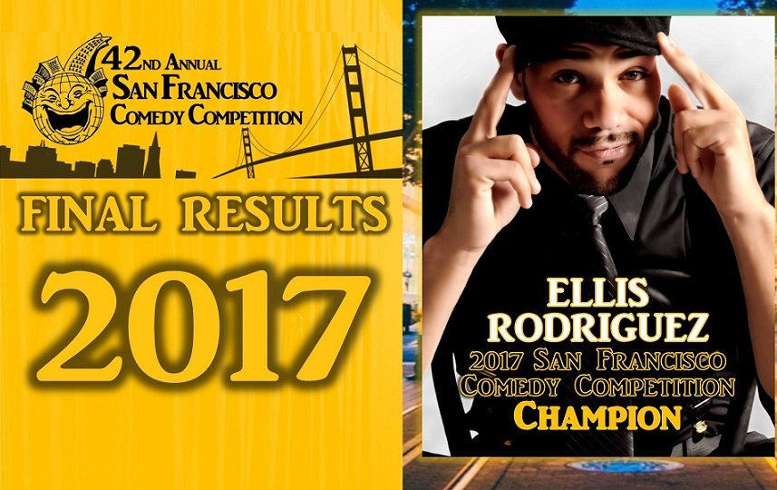 Ellis Rodriguez wins the 2017 San Francisco Comedy Competition