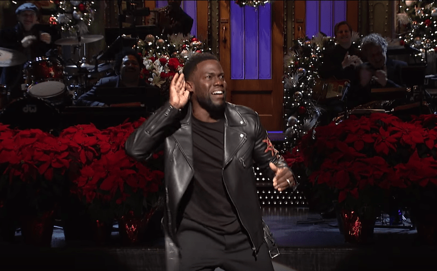 kevin hart delivers a stand up monologue for the christmas episode of saturday night live - Christmas Monologue