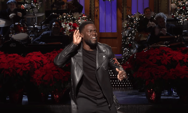 Kevin Hart delivers a stand-up monologue for the Christmas episode of Saturday Night Live