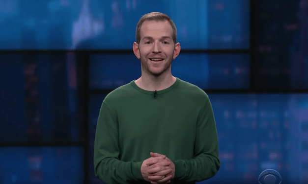 Gary Vider on The Late Show with Stephen Colbert