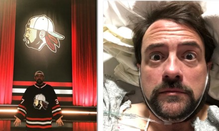 Kevin Smith survives massive heart attack following taping of his comedy special