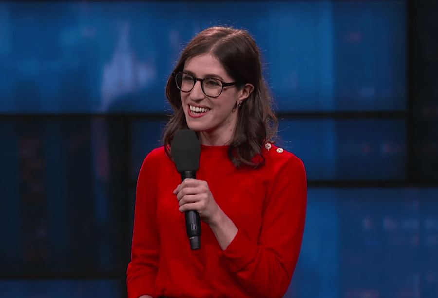 Emmy Blotnick on Late Show with Stephen Colbert