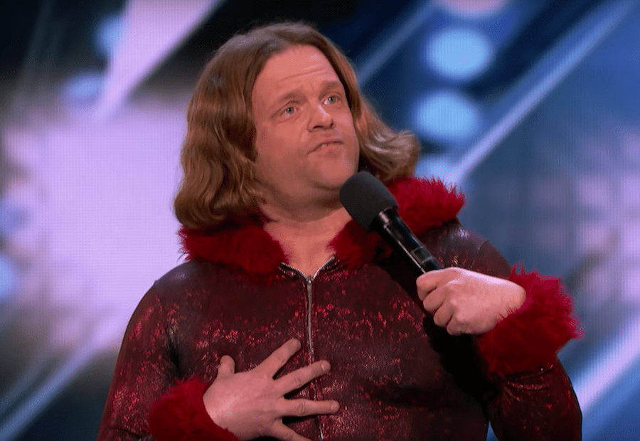 "Roast battler Alex Hooper ""auditions"" for America's Got Talent 2018"