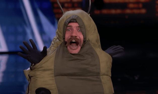 Sethward auditions as a NSFW caterpillar for America's Got Talent 2018