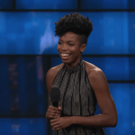 Sasheer Zamata on The Late Show with Stephen Colbert