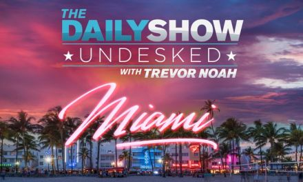 The Daily Show with Trevor Noah visiting Miami for the midterms