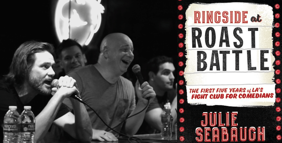 "Julie Seabaugh and Troy Conrad document ""Ringside at Roast Battle"" in a new book!"