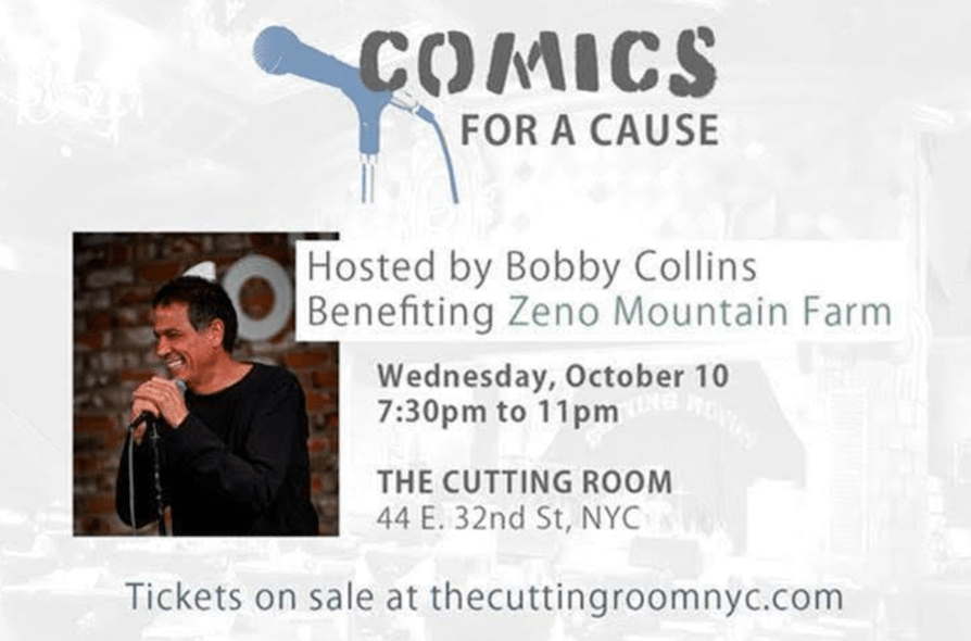 Bobby Collins brings 10th annual Comics For A Cause benefit to NYC