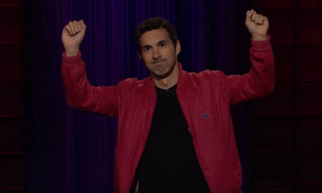 Mark Normand on The Late Late Show with James Corden