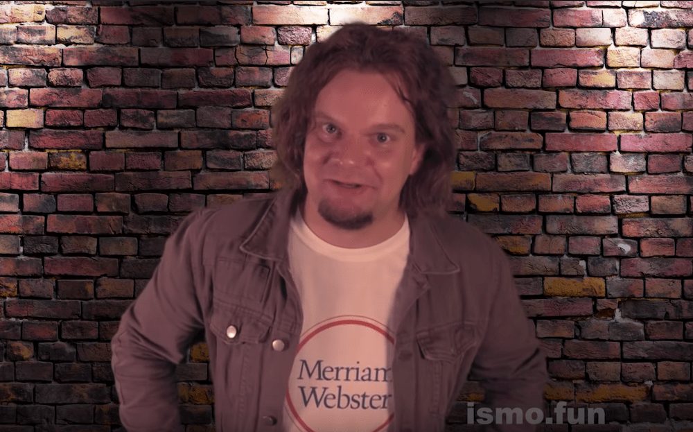 Ismo helps Merriam-Webster  decipher the English language