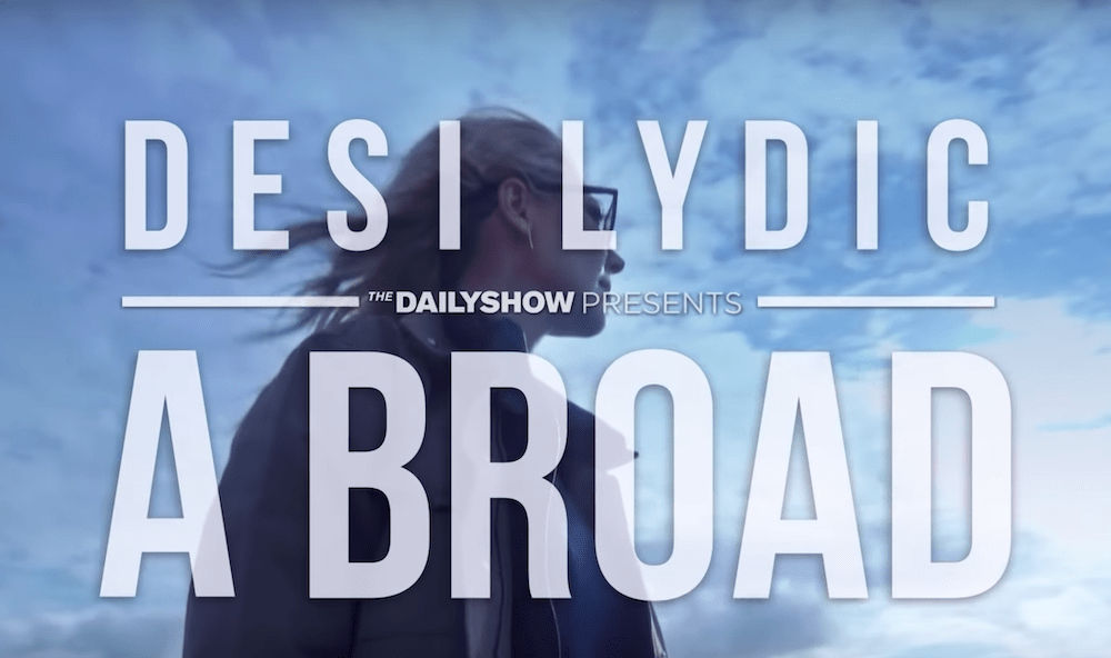 """The Daily Show announces Desi Lydic special report: """"Abroad"""""""