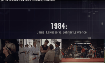 """Enjoy this pitch perfect 30 For 30 treatment of """"The Karate Kid"""" #TBT"""