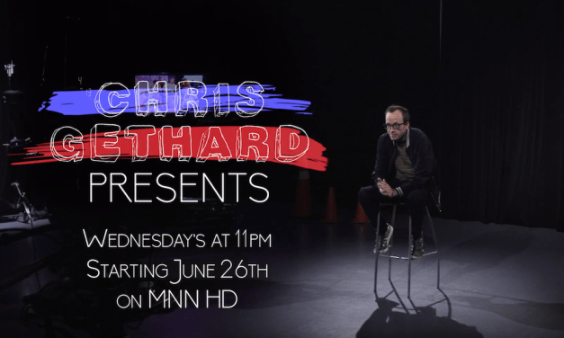 Chris Gethard Presents some of his favorite comedians in new MNN series starting June 2019