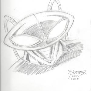Black Manta by Norm Rapmund