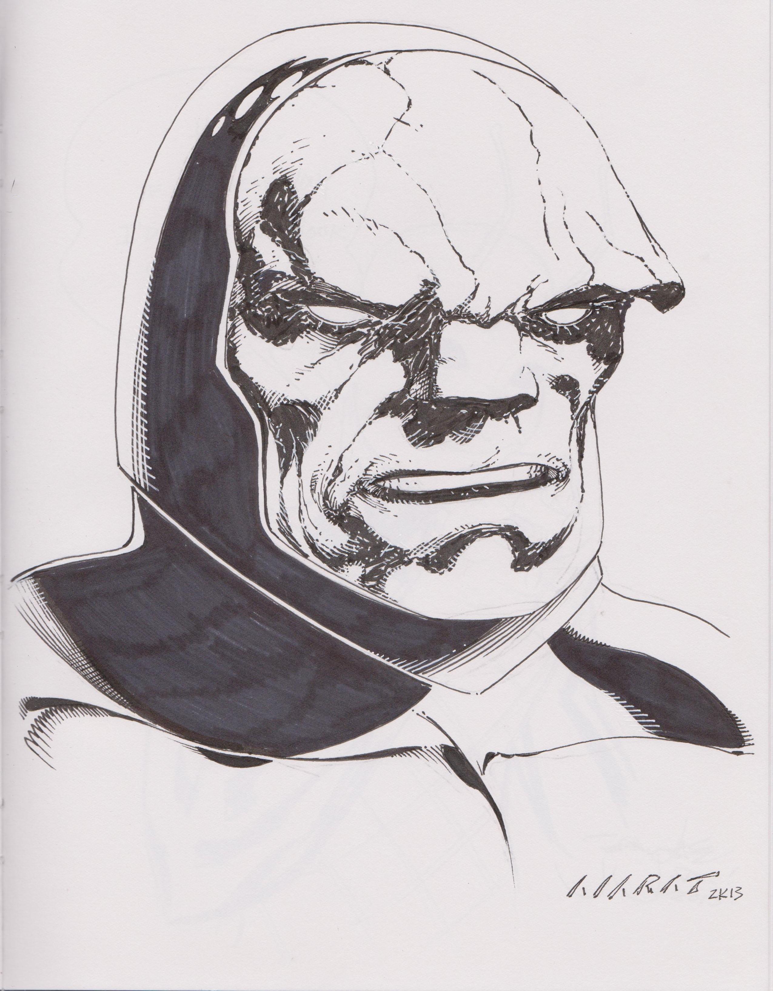 Darkseid by Marat Mychaels