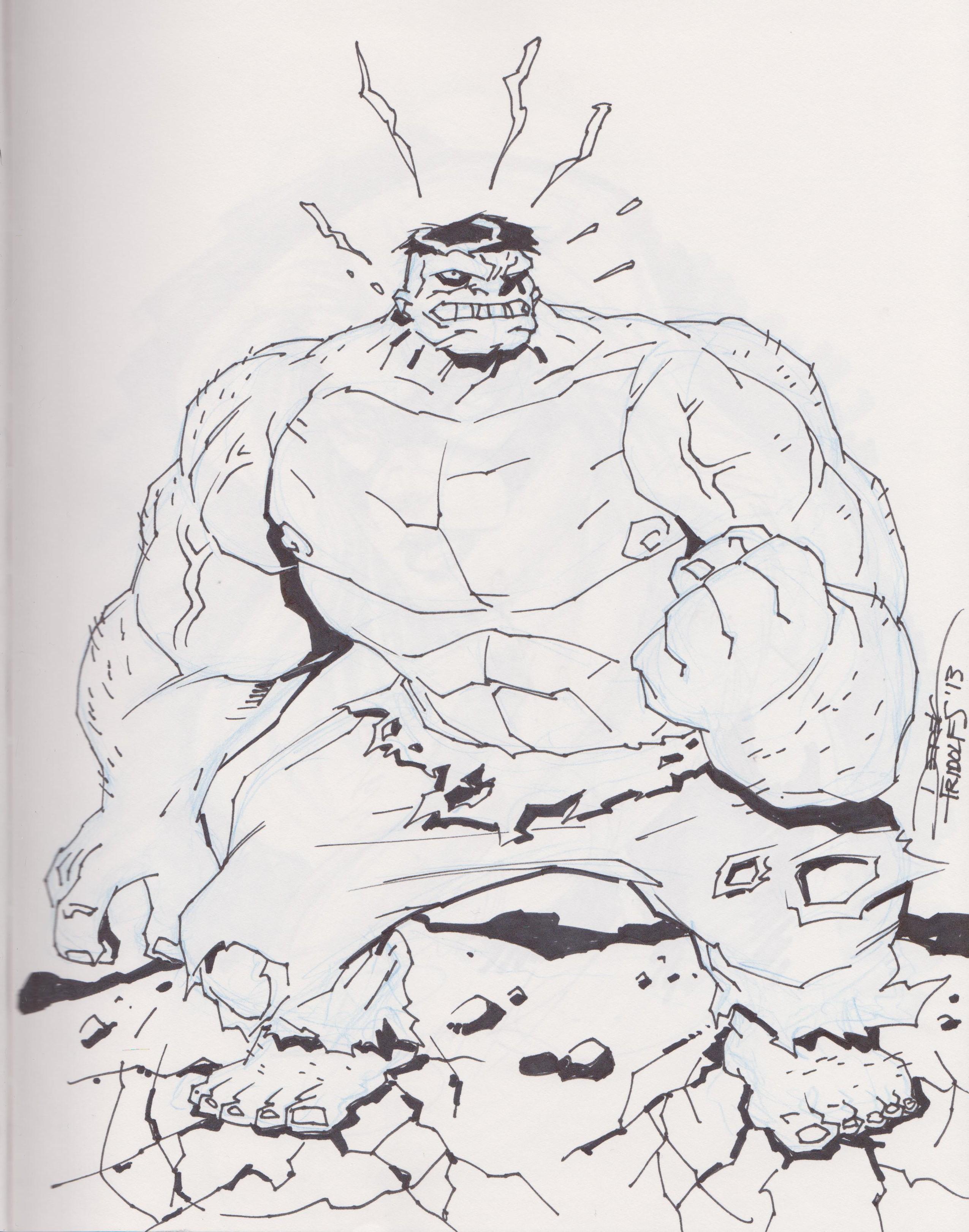 Hulk by Derek Fridolfs