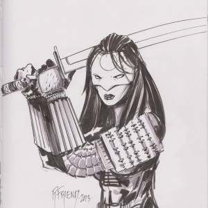 Katana by Richard Friend