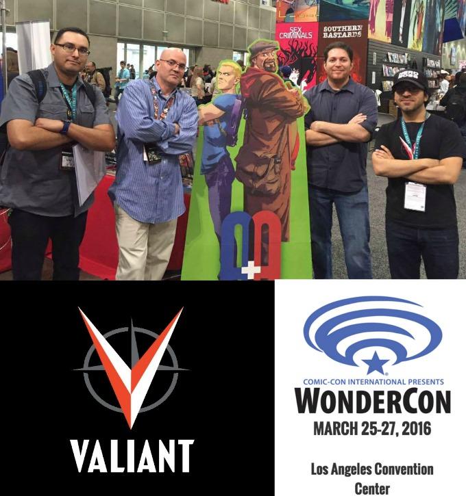 The Comic Source Podcast Episode 207 – Valiant Sunday – Wondercon Dinesh Shamdasani Interview