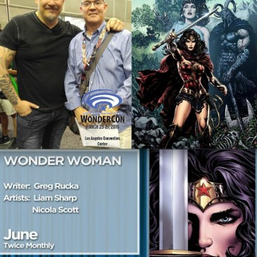 The Comic Source 074 The Wonder Con Files Liam Sharp Interview