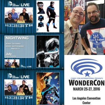 The Comic Source Podcast 090 The Wonder Con Files Tim Seeley Interview