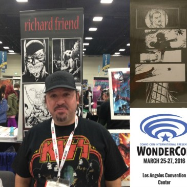 The Comic Source 092 The Wonder Con Files Richard Friend Interview