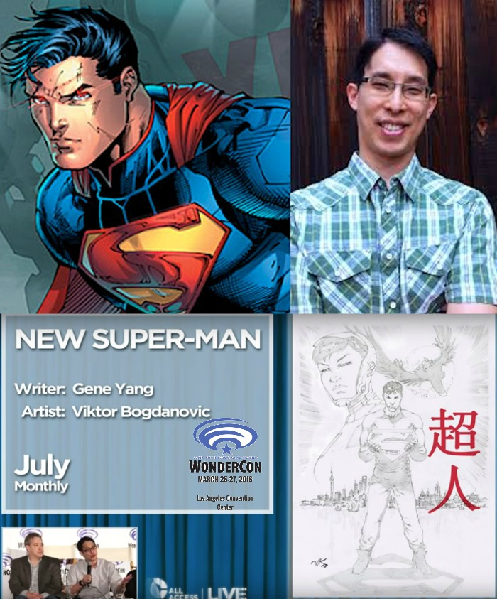 The Comic Source Podcast 082 The Wonder Con Files Gene Yang Interview