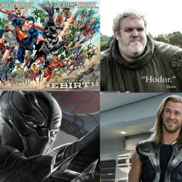 The Comic Source Podcast 100 TV & Movie Talk