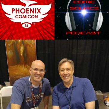 The Comic Source Podcast Episode 109 Phoenix Comicon Interview Dan Jurgens