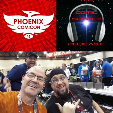 The Comic Source Episode 113 Phoenix Comicon Interview Chad Hardin