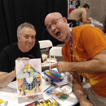 The Comic Source Podcast Episode 106 Phoenix Comicon Interview Barry Kitson