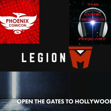 The Comic Source Podcast Episode 108 Phoenix Comicon Interview Paul Scanlan