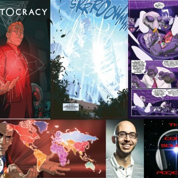 The Comic Source Podcast Episode 125 Cryptocracy Interview with Van Jensen