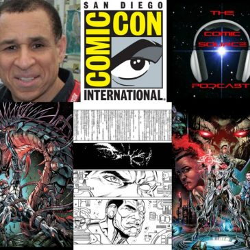 The Comic Source Podcast Episode 132 San Diego Sound Bytes; John Semper