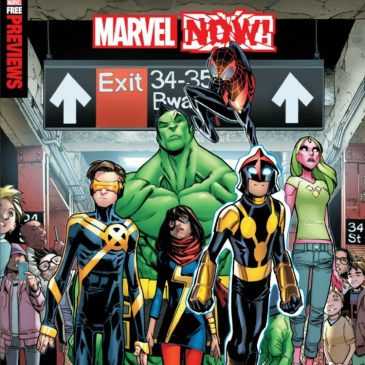 The Comic Source Podcast Episode 127 All News Special – Marvel Now!