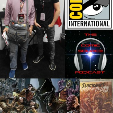 The Comic Source Podcast Episode 138 San Diego Sound Bytes; Lee Bermejo