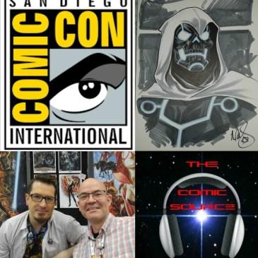 The Comic Source Podcast episode 145 San Diego Sound Bytes; Mark Brooks